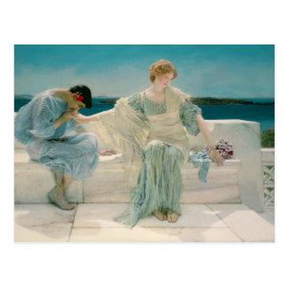 Alma-Tadema | vraagt me niet meer, 1906 Briefkaart