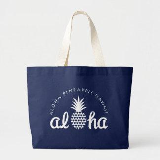 aloha pineapple hawaii bag grote draagtas