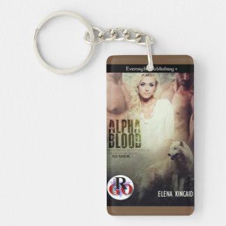 Alpha- Bloed Keychain Sleutelhanger