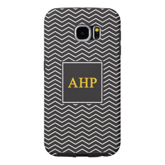 Alpha- Eta Rho | Patroon van de Chevron Samsung Galaxy S6 Hoesje