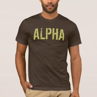 Alpha- Overhemd voor Man T Shirt