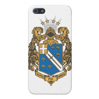 Alpha- Phi Omega Kleur - CREST iPhone 5 Cases