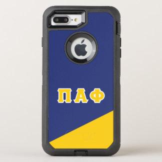 Alpha- Phi   van pi Griekse Brieven OtterBox Defender iPhone 8 Plus / 7 Plus Hoesje
