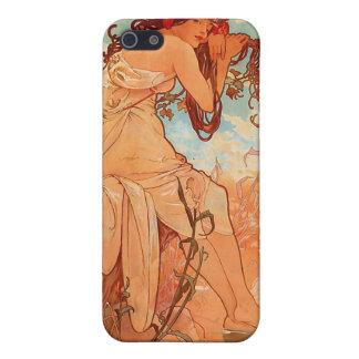 Alphons Mucha Summer iPhone 5 Cases