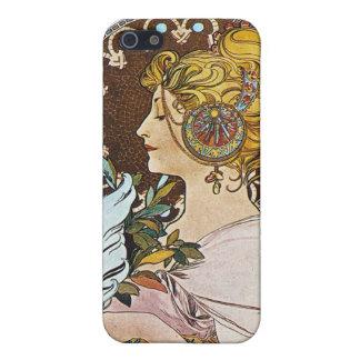 Alphonse Mucha Artwork iPhone 5 Cover