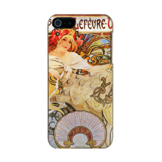 Alphonse Mucha Biscuits Lefevre-Utile Incipio Feather® Shine iPhone 5 Hoesje