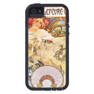 Alphonse Mucha Biscuits Lefevre-Utile Tough Xtreme iPhone 5 Hoesje