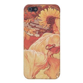 Alphonse Mucha, Chocolat Mexicain 1896 iPhone 5 Case
