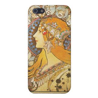 Alphonse Mucha. De Pluim van La. 1896. iPhone 5 Case