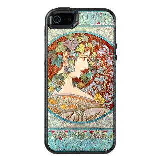Alphonse Mucha Ivy OtterBox iPhone 5/5s/SE Hoesje