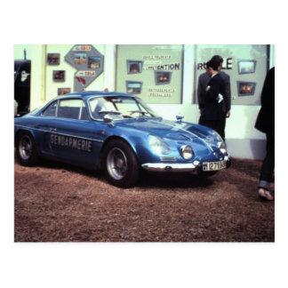 Alpien Renault in Le Mans 1968 Briefkaart