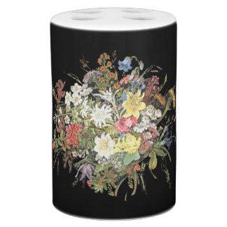 Alpiene Wildflower bloeit de BloemenReeks van het Badkamer Set