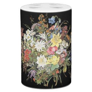 Alpiene Wildflower bloeit de BloemenReeks van het Tandenborstelhouder