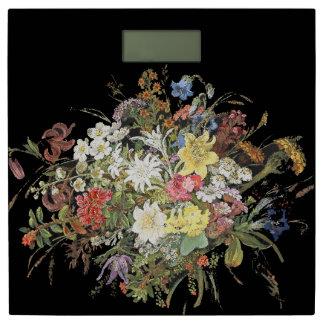 Alpiene Wildflower bloeit de BloemenSchaal van de Personenweegschaal
