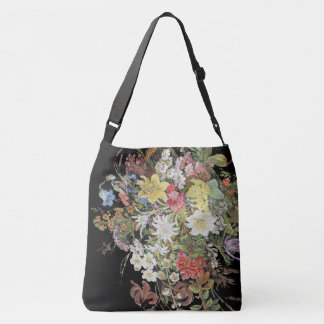 Alpiene Wildflower bloeit het BloemenCanvas tas