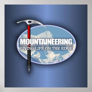 Alpinisme (de Bijl van het Ijs) Poster