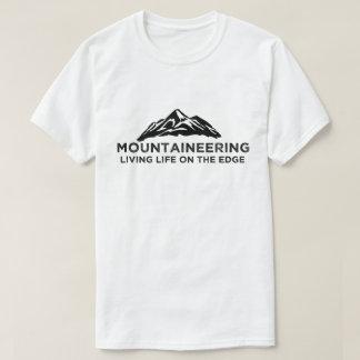 Alpinisme/de Klimmer/de Alpinist van de Rots T Shirt