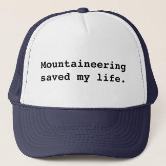 Alpinisme gered mijn leven trucker pet