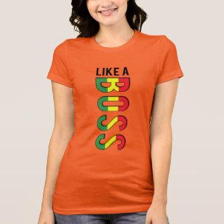ALS CHEF- reggaekleuren T Shirt