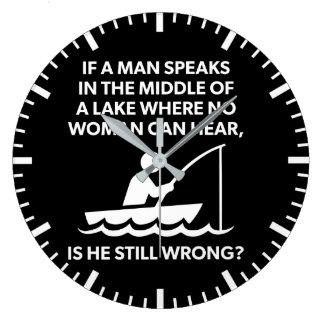 Als een Man in een Meer - Visserij spreekt, Grote Klok