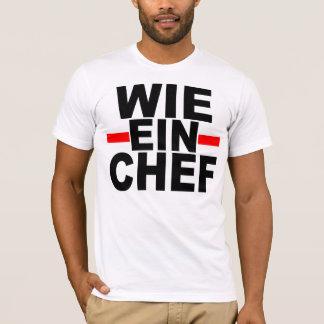 ALS EEN WERKGEVER: DUITS. wie ein Chef-kok T Shirt