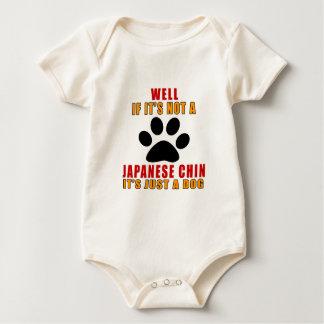 ALS HET GEEN JAPANSE KIN IS IS HET ENKEL EEN HOND BABY SHIRT