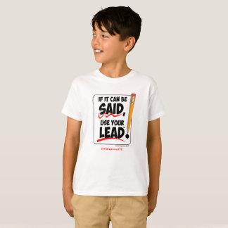 Als het kan worden gezegd t shirt