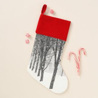 als kant van I met bomen Kerstsok