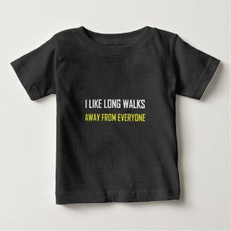 Als Lange Gangen vanaf iedereen Baby T Shirts