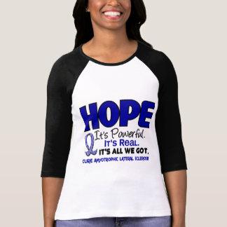 ALS Lou Gehrig HOOP 1 van de Ziekte T Shirt