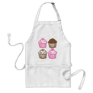 ALS Schort Roze Cupcakes