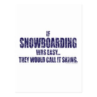 Als-sneeuw-in:schepen--gemakkelijk Briefkaart