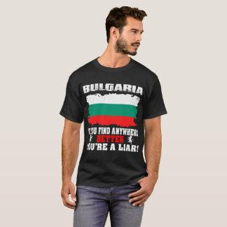 Als T - shirts van het Land van Bulgarije van de