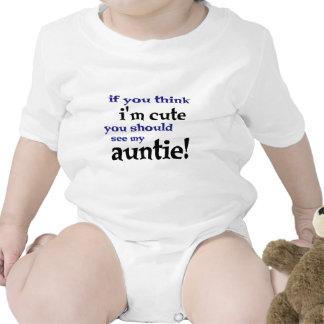 Als u denkt ik leuk ben zou u mijn Tante moeten Rompertjes