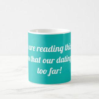Als u deze tekst leest betekent het…. koffiemok