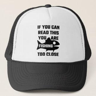 Als u Dit kunt lezen te dicht vist u Trucker Pet