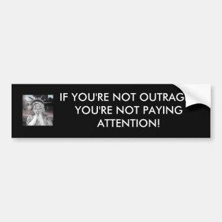 Als u niet het verbolgen thenyou're niet betalen… bumpersticker