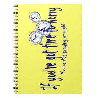 Als u Tijd hebt om zich… Ringband Notitieboek