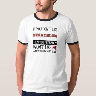 Als u van geen Tienkamp Koel houdt T Shirt