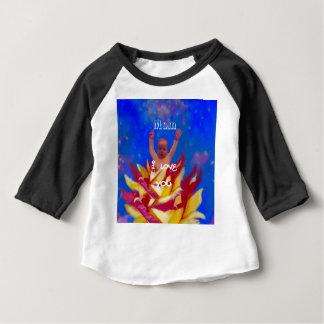Als u wist hoe ik van u houd baby t shirts