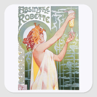 Alsem Robette Vierkant Sticker