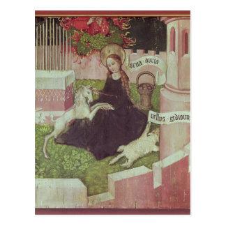 Altaarstuk van de Dominicanen Briefkaart