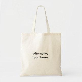 """""""Alternatieve hypothesen."""" Het Bolsa van de Draagtas"""