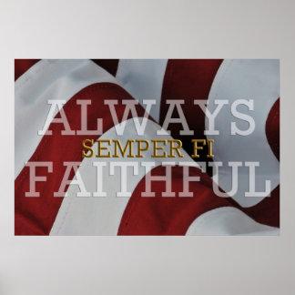 Altijd Gelovig - Semper FI- Poster