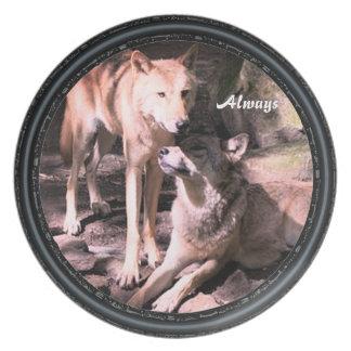 Altijd het Bord van het Collectie van de Wolf