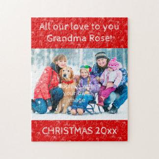 Altijd het Raadsel van de Foto van Kerstmis voor Puzzel