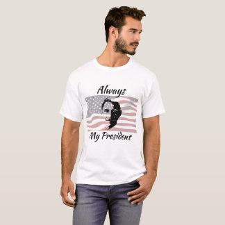 Altijd mijn Overhemd van de Vlag van Obama van het T Shirt