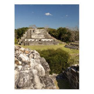 Altun Ha is een Mayan plaats die data terug naar Briefkaart