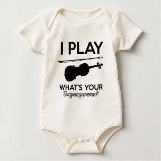 altviool design baby shirt