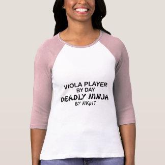 Altviool Dodelijke 's nachts Ninja T Shirt